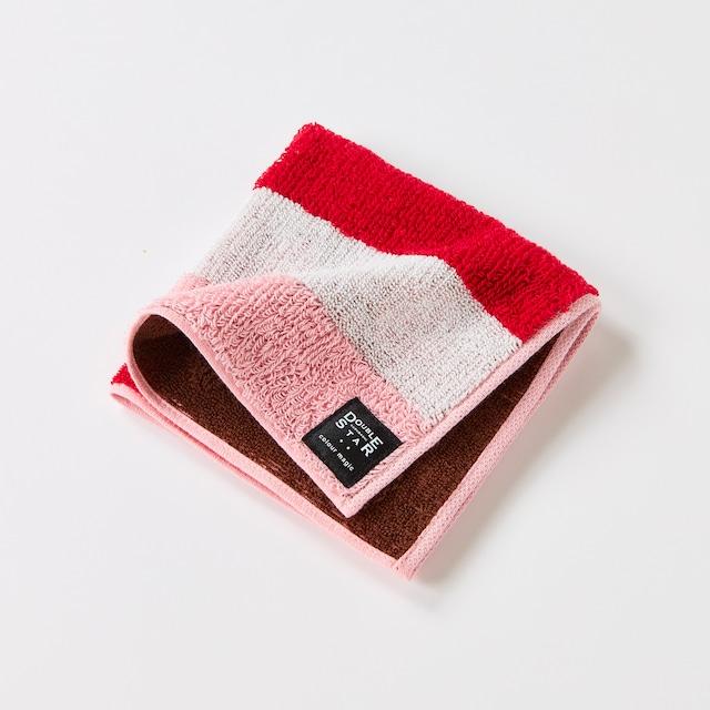colour magicベリームース タオルハンカチ/ピンク 1-65435-86-P
