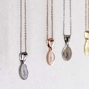 ROGV180219N123【recomend selection】maria oval top necklace small/マリアオーバルトップネックレススモール