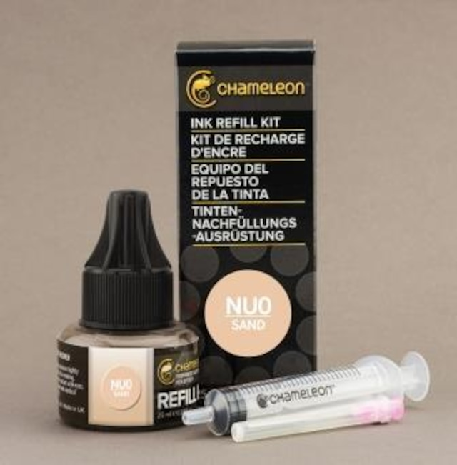 Chameleon Pen Ink Refill 25ml Sand NU0 (カメレオンペン 詰替え用インク NU0)