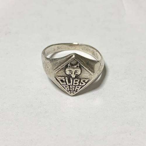 Vintage CUB SCOUT Silver Ring ③