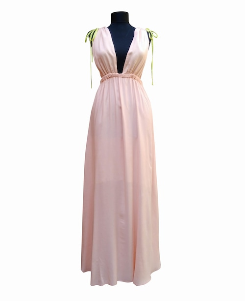 Maxi Night&Resort Dress Safran マキシナイト&リゾートドレス サフラン