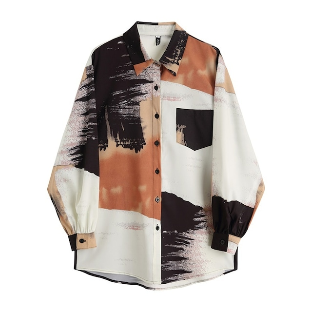 Setting sun beach shirt(セッティングサンビーチシャツ)b-392