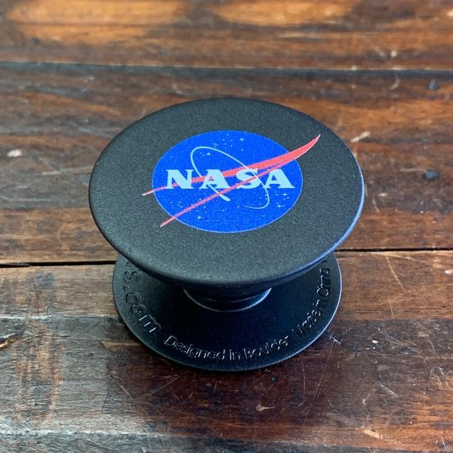 NASA公認(アメリカ航空宇宙局)・Popsockets・ポップソケット・グリップ・インサイニア(ミートボール)