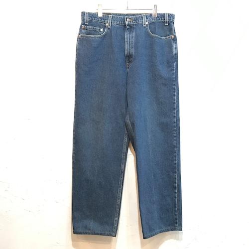 【USED】90s Levis 550 デニムパンツ テーパードパンツ ブルー W36 大きめサイズ