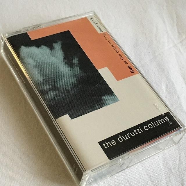 【Cassette・米盤】Durutti Column /  Live At The Bottom Line New York