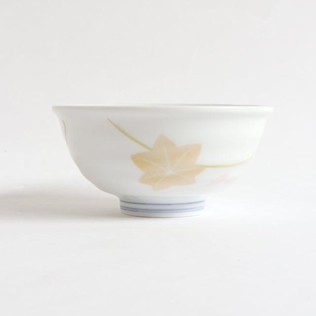 ろくべい茶碗 小(口径11cm) 子ども・女性向け 春秋もみじ【2001-4220】