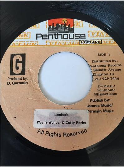 Wayne Wonder(ウェインワンダー) & Cutty Ranks(カッティランクス) - Lambada【7'】