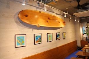 KUKU Surfboard Custom-made 【Interior】