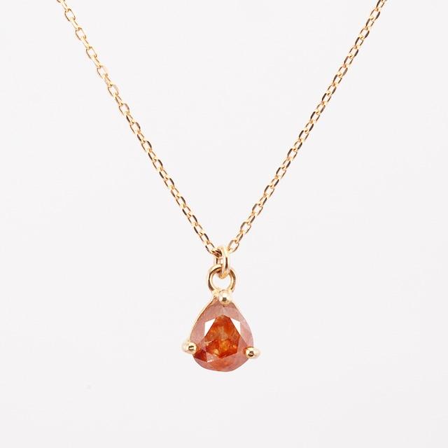 Natural diamond necklace