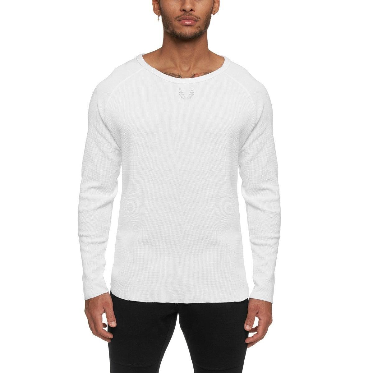 【ASRV】SilverPlus® メッシュバックロングシャツ - White
