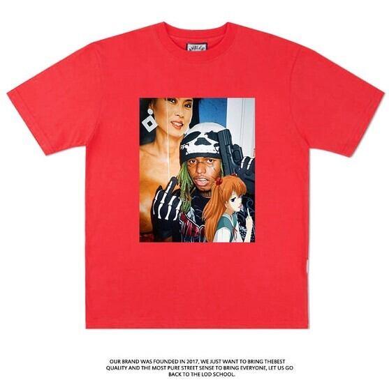 【エヴァコラボTシャツ】zilakami×アスカTシャツ