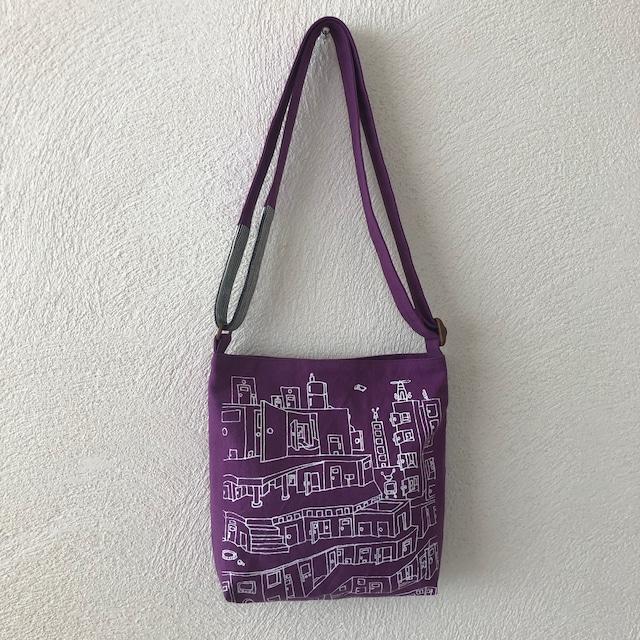 シルクスクリーンs-bag「puzzle city」s-1