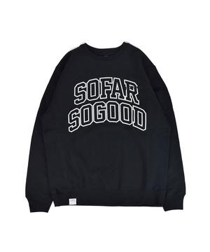 SOFAR SOGOOD Crew Neck / BLACK