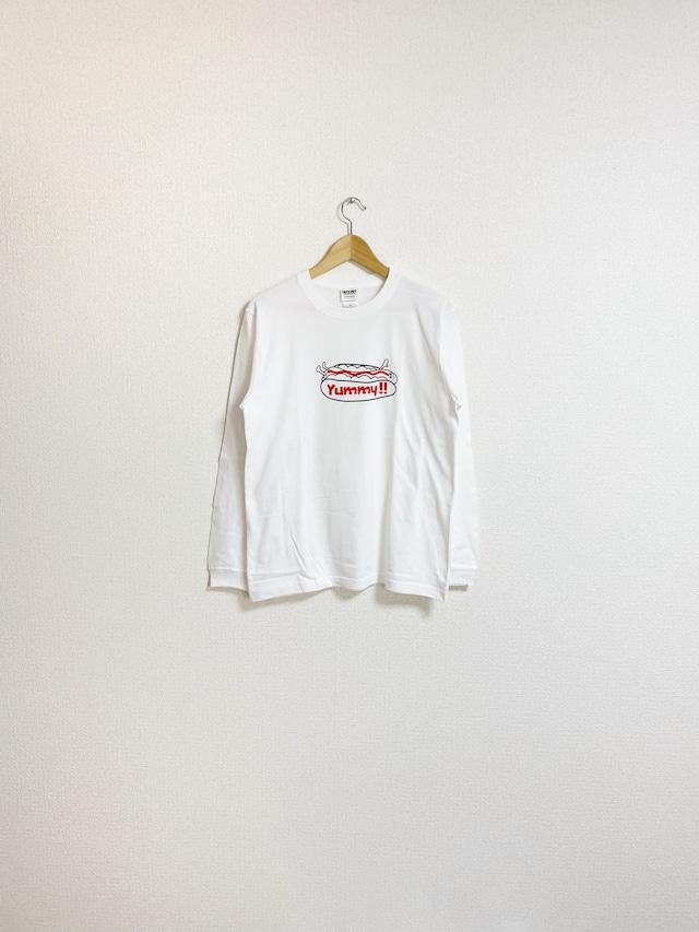 ソーセージくんのきもちロングスリーブTシャツ