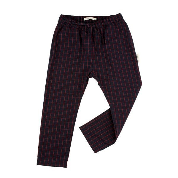 Tinycottons Grid wv pant (8Y)