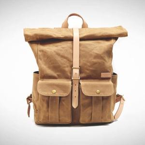 Astray Rolltop Backpack [Mustard / Vachetta]