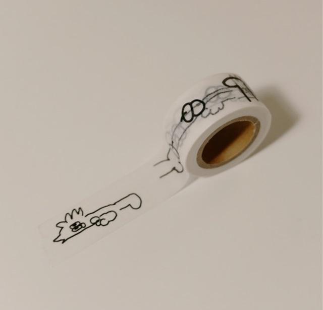 [Aeiou] masking tape (peter)