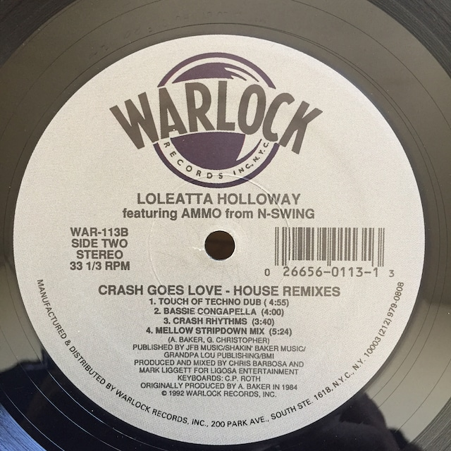Loleatta Holloway featuring Ammo – Crash Goes Love (House Remixes)