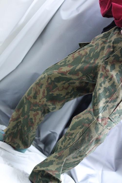 80's former USSR butane camouflage BDU pants