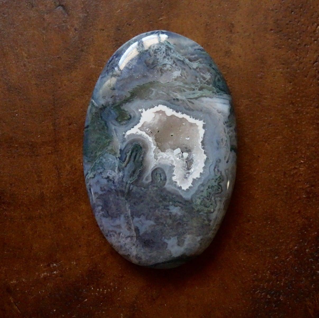モスアゲート 天然石ルース