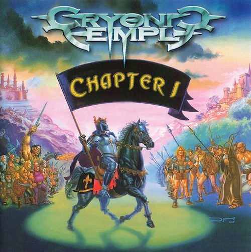 """CRYONIC TEMPLE """"Chapter I """"  (輸入盤)"""