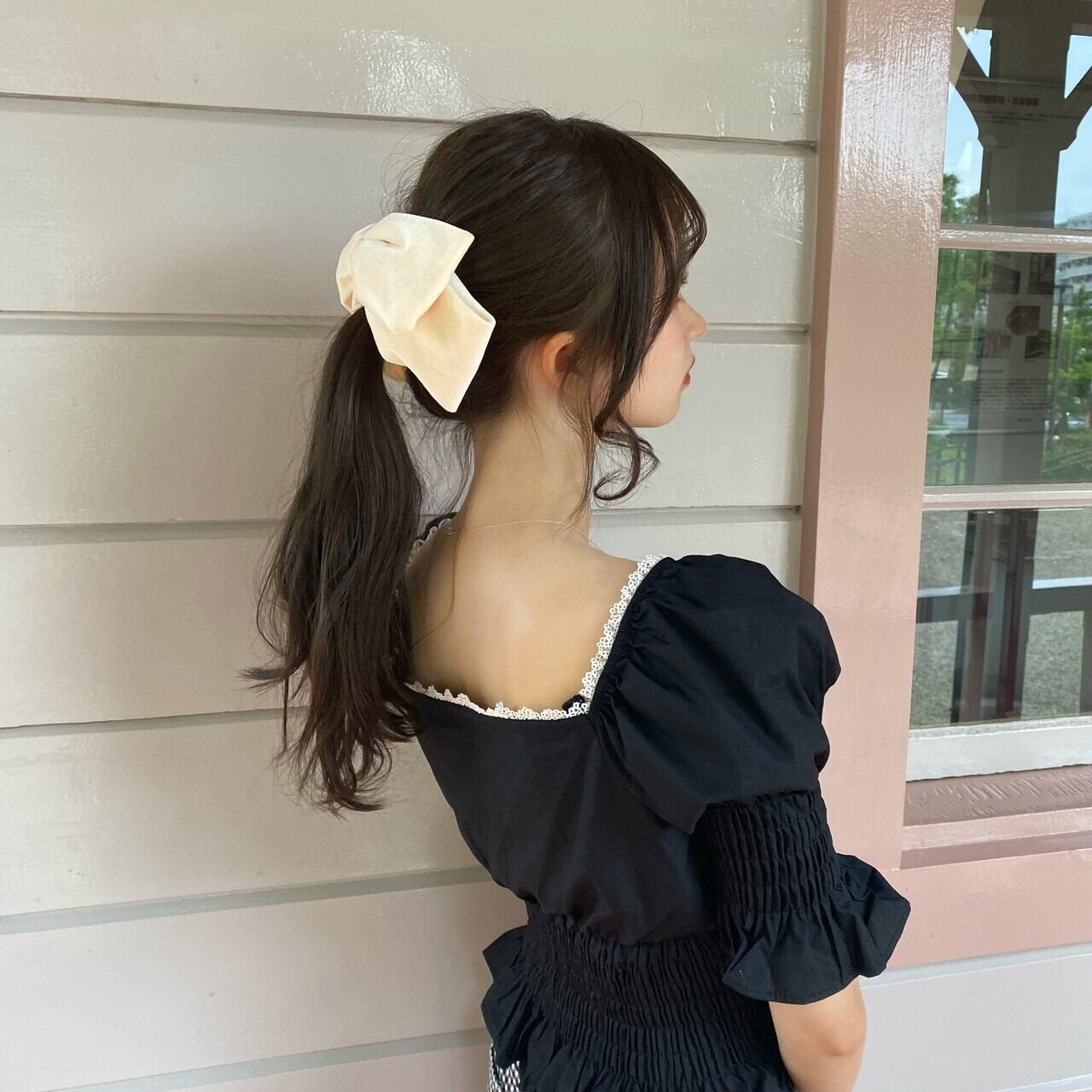 【Renonqle】ribbon balletta