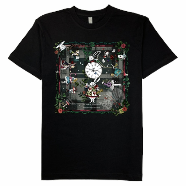 ◆受注生産◆プレミアムコットンTシャツ 「New アリス」柄