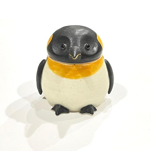 親ペンギン  蓋物[八木下裕]