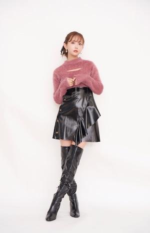 Enamel Frill Skirt
