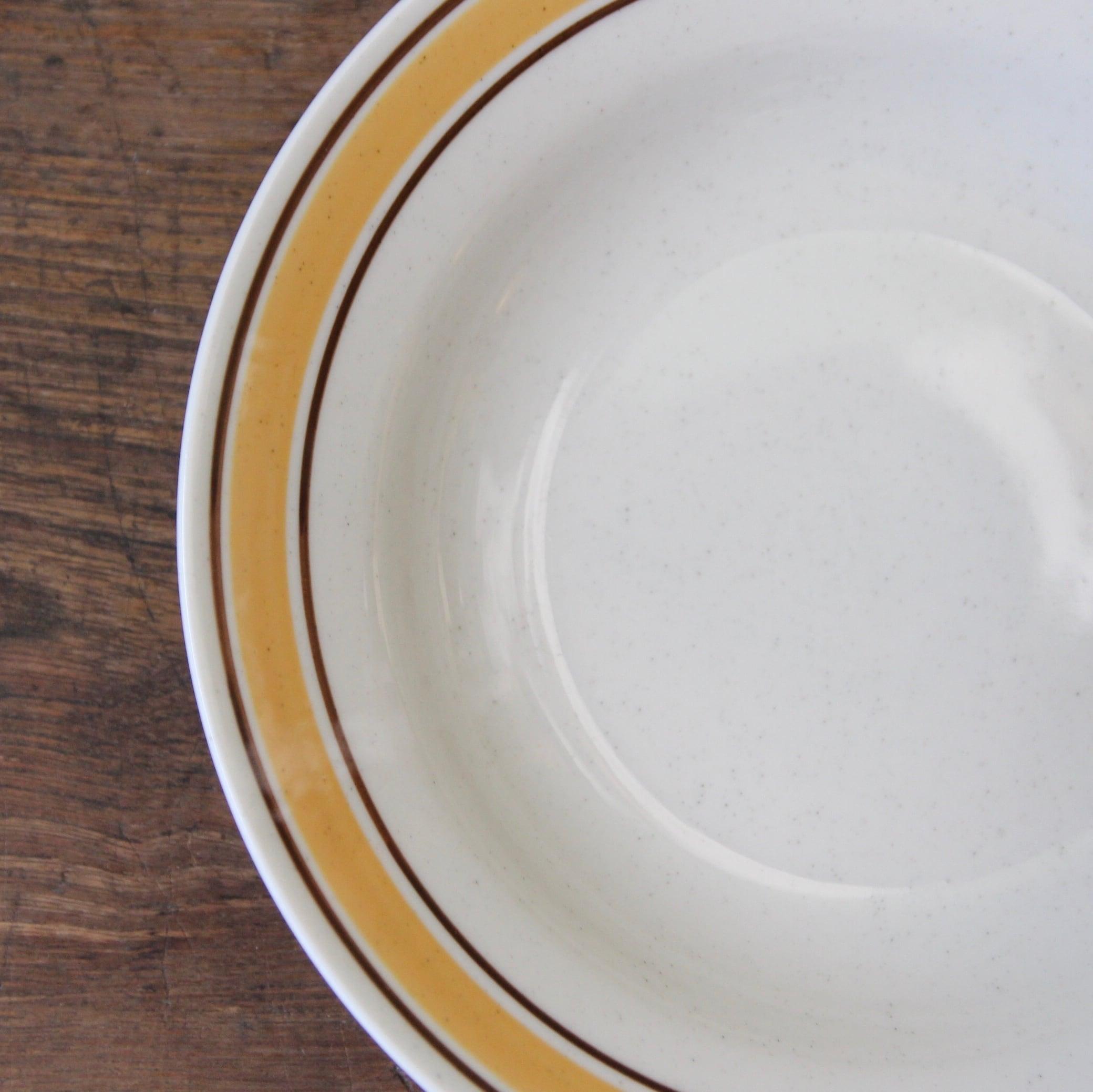 NICHIAE レトロなライン皿 在庫4枚