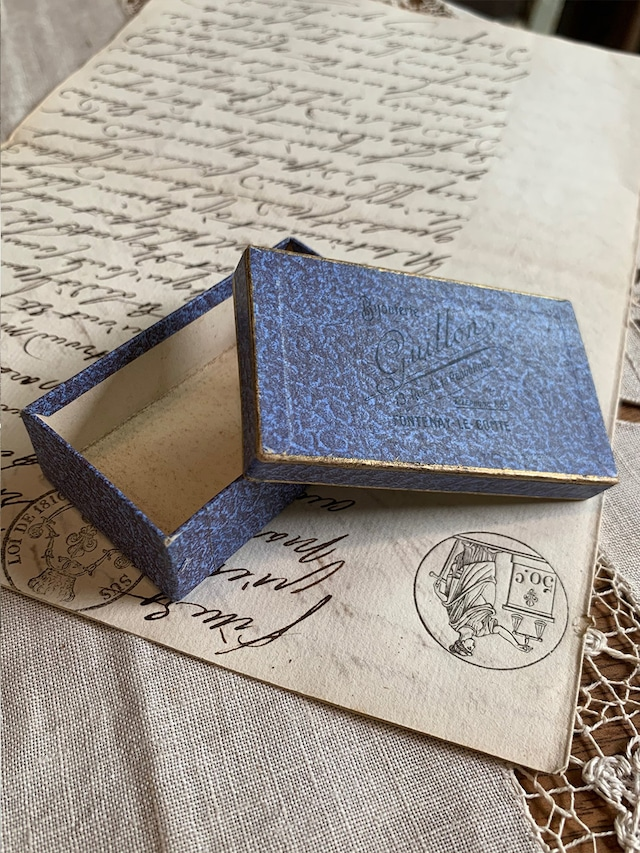 小さな紙箱 bijouterie giullon