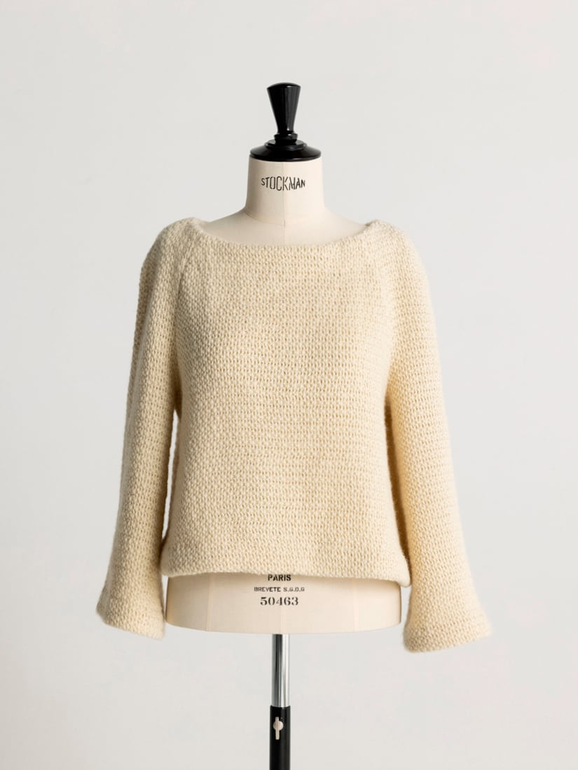 boat neck pull-over