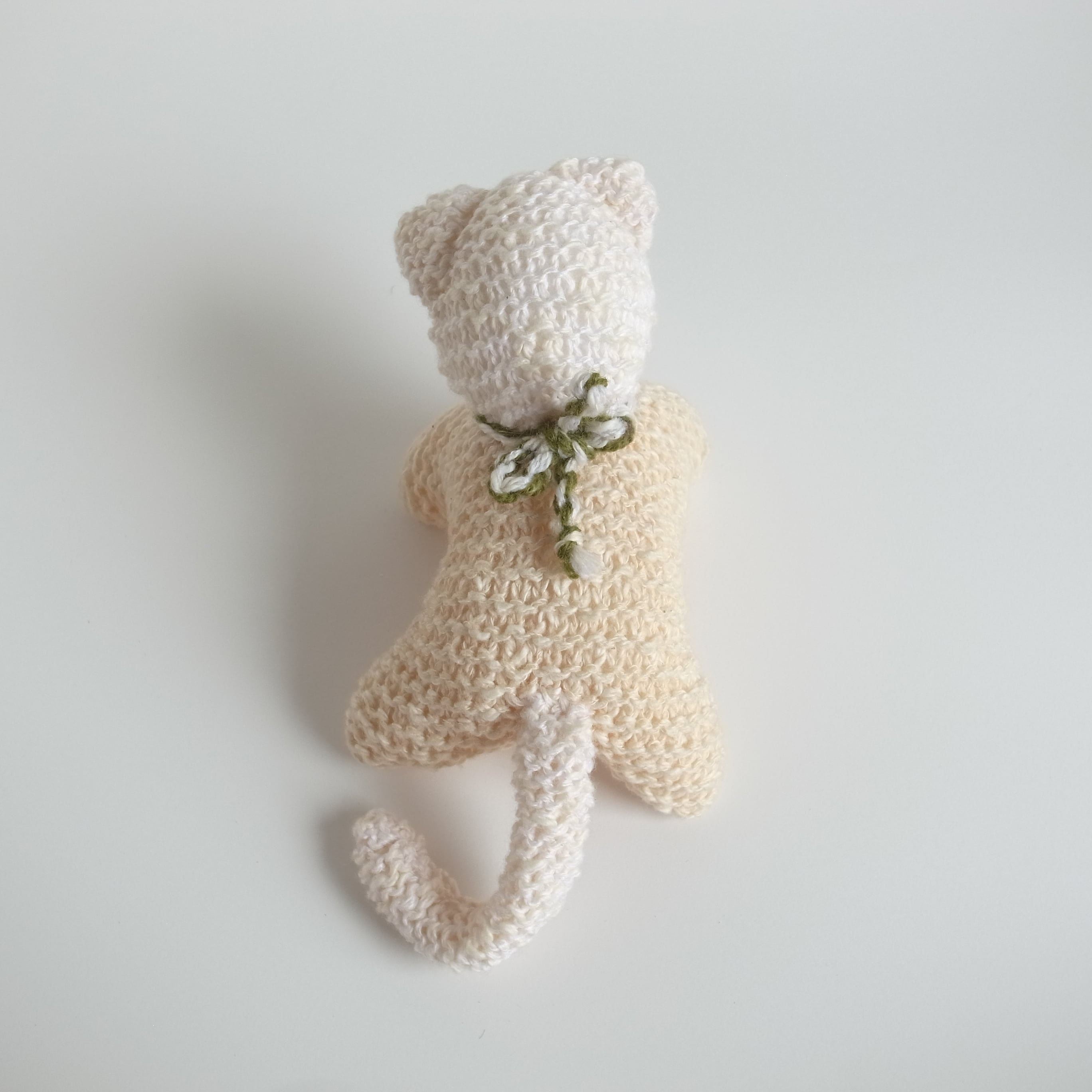ネコ 編みぐるみ