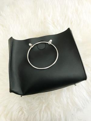 レザーリングbag  Mサイズ