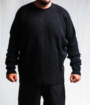 JAN JAN VAN ESSCHE - Wide fit crew neck sweater - KNIT#42