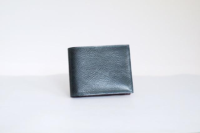 二つ折り財布/BlueGreen