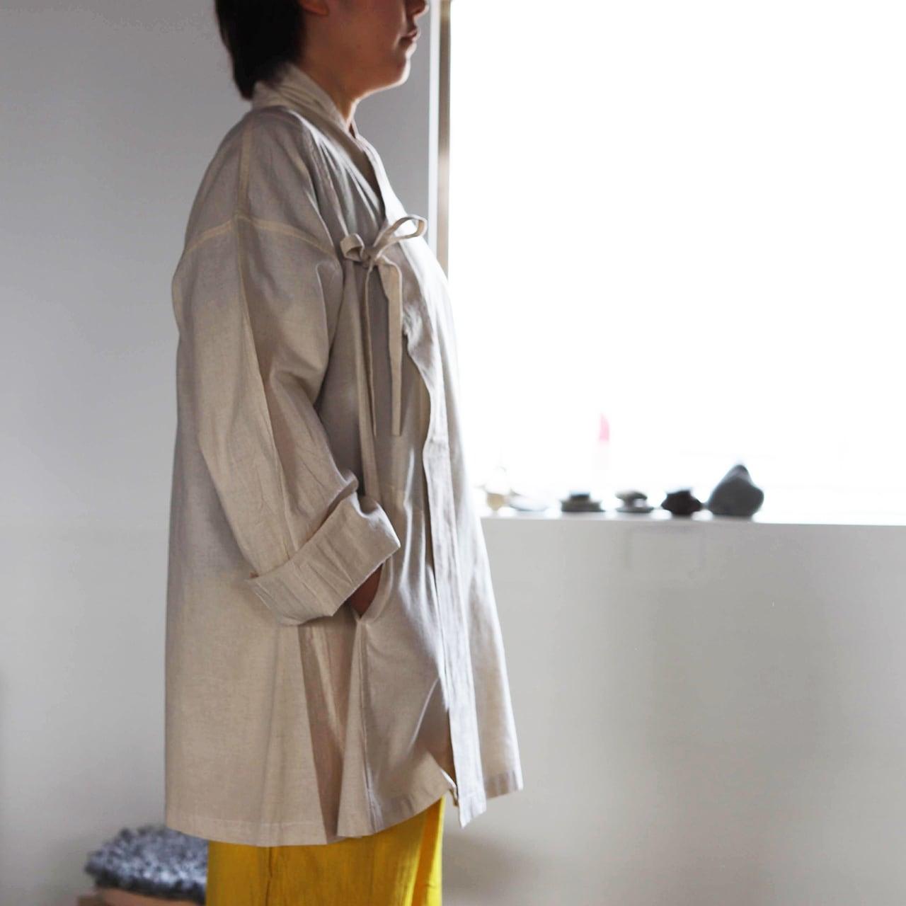 ヂェン先生の日常着 羽織ショートコート