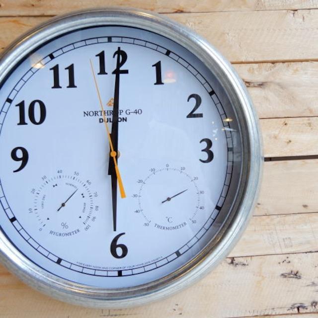Wall Clock Northrop G-40