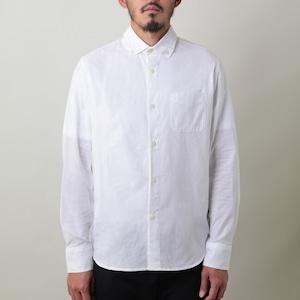 「ニッポンシャツ」 ベーシック 綿100%生地 知多木綿の晒生地を使用した日本製ボタンダウンシャツ