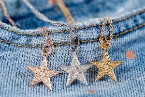 【316L Hawaiian star necklace】