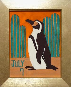再入荷希望の方ご相談下さい。     中條 亜耶「7/7 フンボルトペンギン」