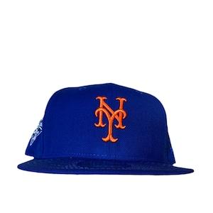 NEW ERA New York Mets 2000 World Series 59Fifty Fitted / Blue×Orange (Pink Brim)