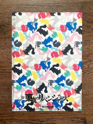 〈東京リベンジャーズ〉A4クリアファイル3種セット (スタジオ描き下ろし&Illustrations by 黒ねこ意匠)