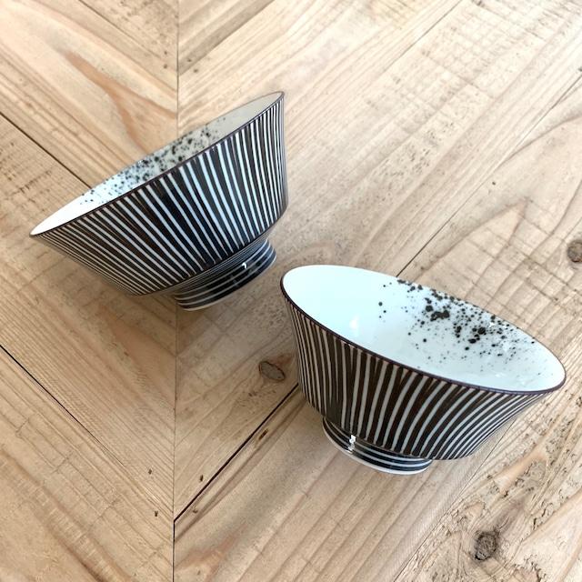 錆十草  ご飯茶碗