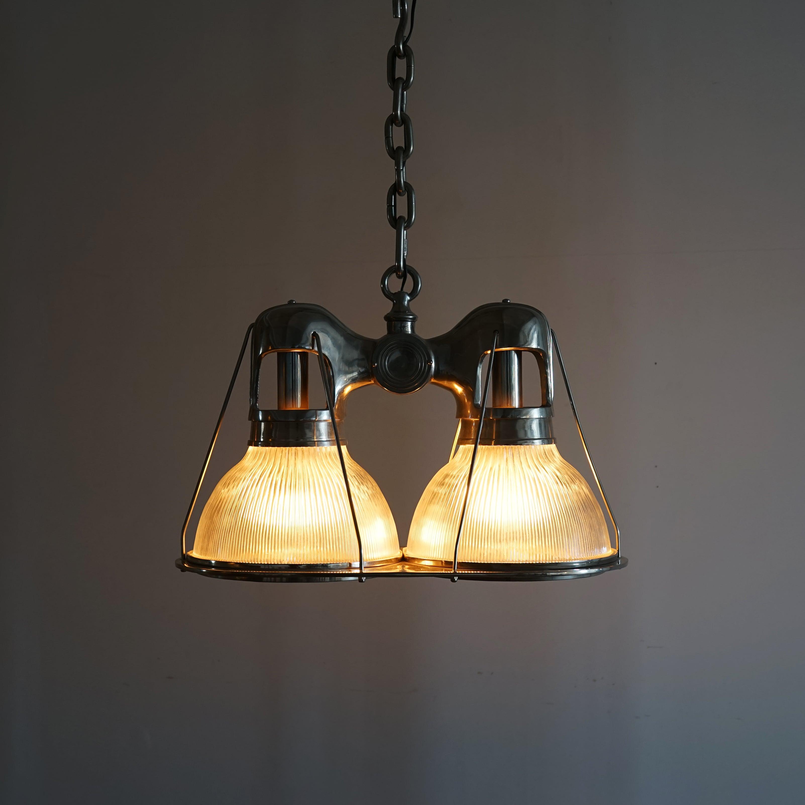 #01-16 Holophane Industrial Pendant Lamp