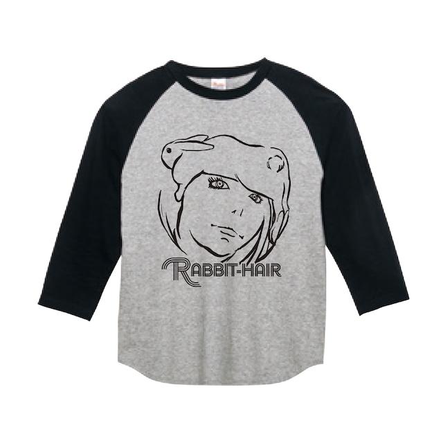 【在庫限り】ラビットヘアー ベースボールTシャツ