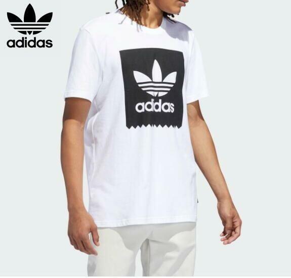 adidas originals アディダス オリジナル Tシャツ 半袖 SOLID BLACKBIRD BR4991 WHITE