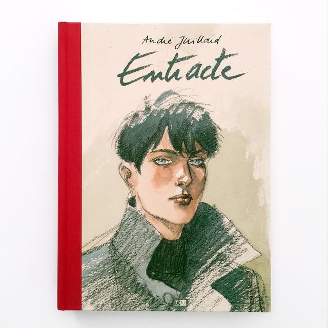 アートブック「Entracte」バンドデシネ作家André Juillard(アンドレ・ジュイヤール)