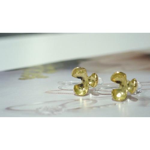 Pop K18YG Clip-on Earrings