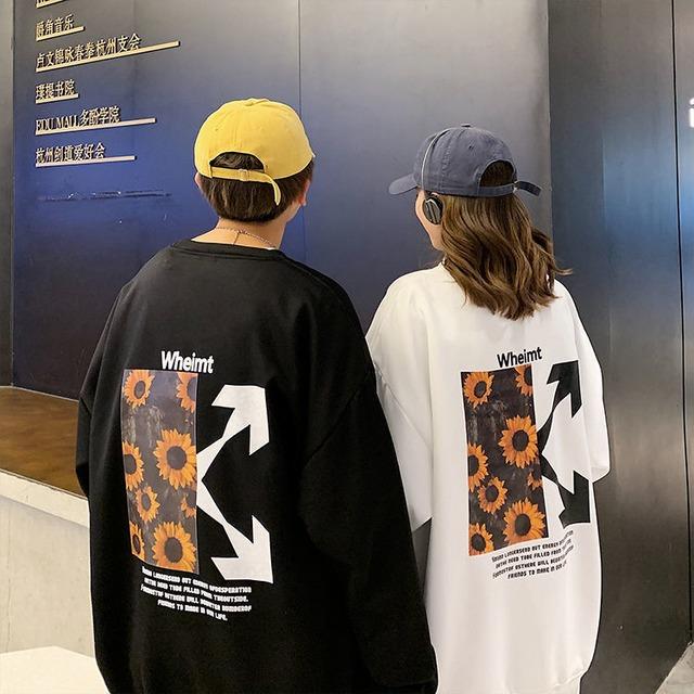 【トップス】ストリートカップルファッション海外トレンド長袖パーカー53207630